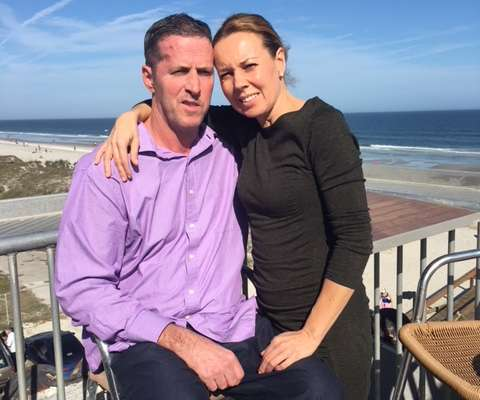 UF Health patient Robert Ayer and wife, Claudia