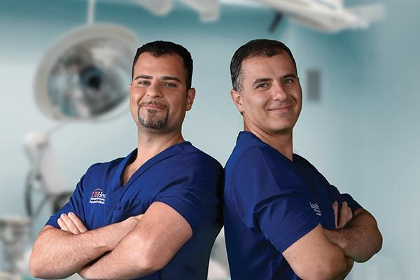 UF Health Neurosurgeons Drs. Koroush and Daryoush Tavanaiepour