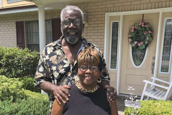 Melvin Turner and his wife, Joan