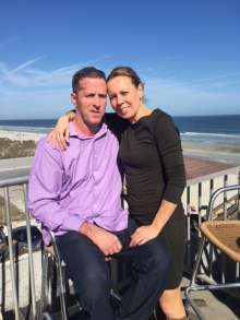 UF Health patient Robert Ayer and wife, Claudia